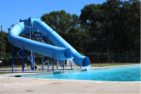 Bishops Landing Amenities - Waterslide
